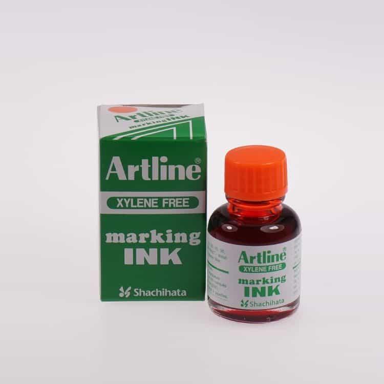 Mực lông dầu Artline không phai ESK 20 OR min
