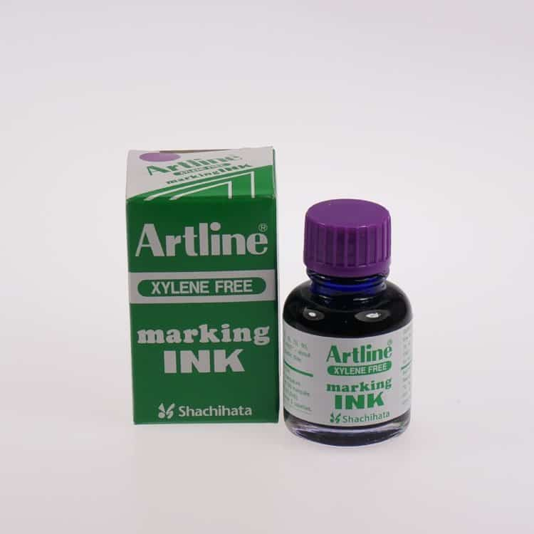 Mực lông dầu Artline không phai ESK 20 PUR min