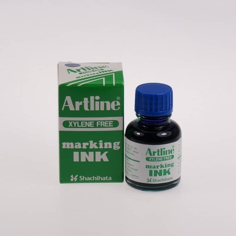 Mực lông dầu Artline không phai ESK 20 bLUE min