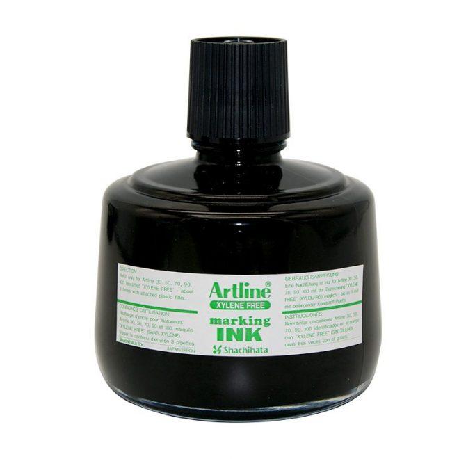 Mực lông dầu Artline không phai ESK 3 black