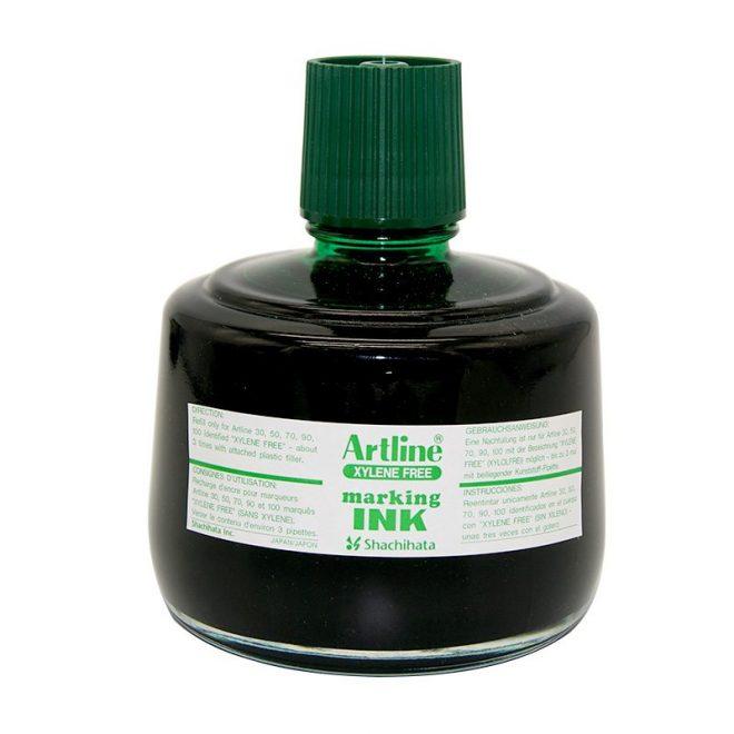 Mực lông dầu Artline không phai ESK 3 green