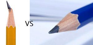 bút chì dễ gãy 300x147 - Như thế nào là bút chì gỗ tốt