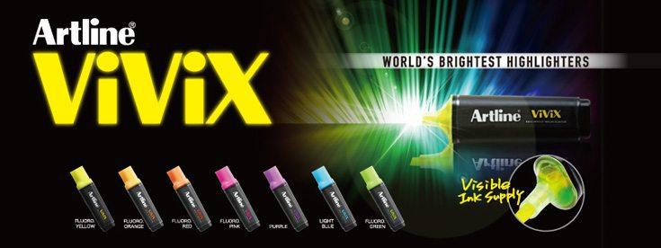 bút dạ quang màu sáng - Cây bút dạ quang có màu sáng đẹp nhất