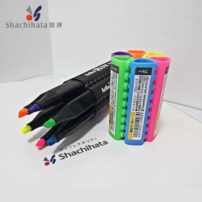 bút dạ quang nhiều màu