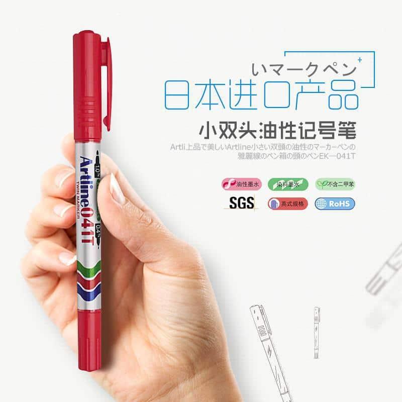 bút lông dầu 2 ngòi
