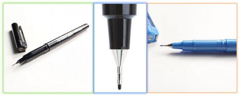 bút lông kim mực đẹp - Cây bút lông kim bạn không nên dùng
