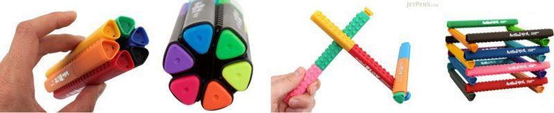 bút sáng tạo lego 1 - Artline stix có thể giúp trẻ xa rời smartphone