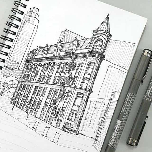 bút vẽ kỹ thuật kiến trúc 1