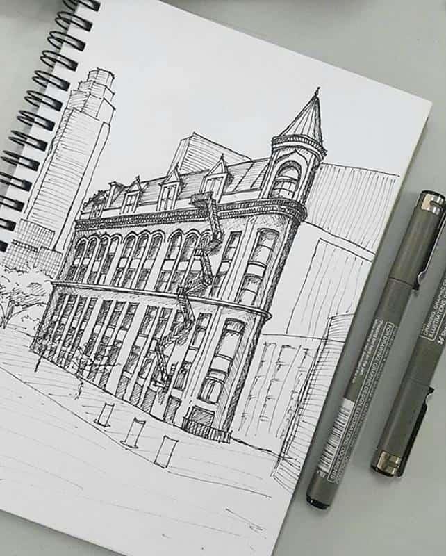 bút vẽ kỹ thuật kiến trúc