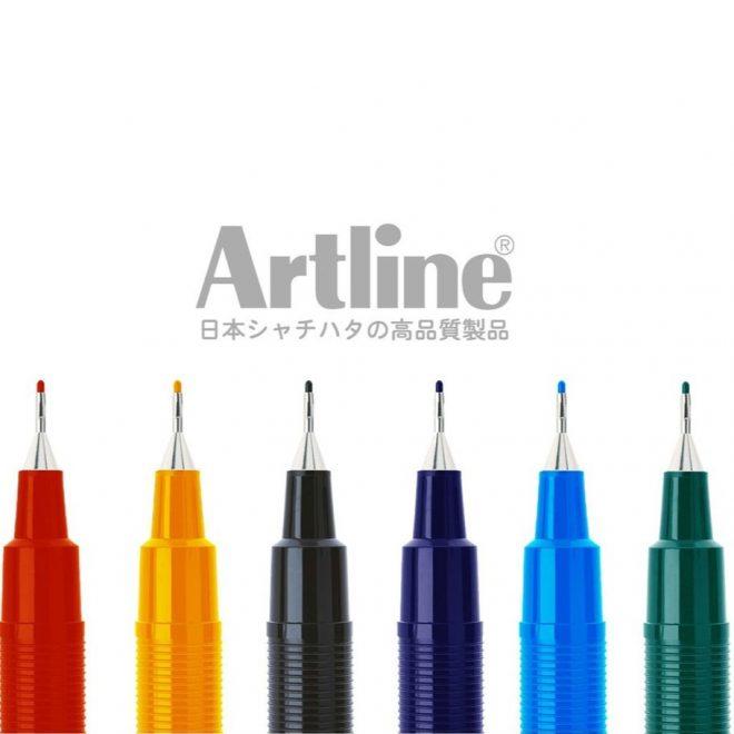 bút lông kim Artline