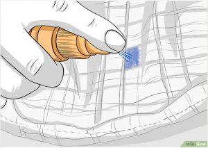 1 2 300x213 - Cách để Tẩy vết mực bút bi trên vải cotton