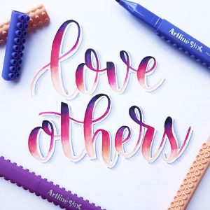 17495316 254544384954220 4045042775383605248 n 300x300 - Những tác phẩm calligraphy ấn tượng từ cây bút Artline Stix