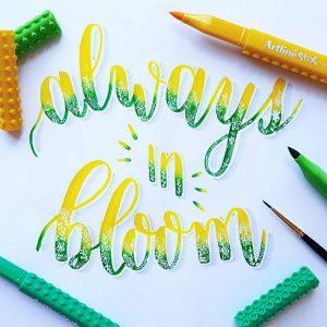 17596090 1171228366336037 8971414953030320128 n 300x300 - Những tác phẩm calligraphy ấn tượng từ cây bút Artline Stix