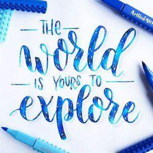 17662452 108660506345552 996810369794048000 n 300x300 - Những tác phẩm calligraphy ấn tượng từ cây bút Artline Stix