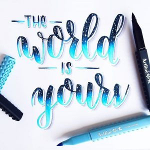 17818834 348139688914131 9016475641071009792 n 300x300 - Những tác phẩm calligraphy ấn tượng từ cây bút Artline Stix