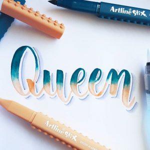 17881400 1637973732898231 6181356381677813760 n 300x300 - Những tác phẩm calligraphy ấn tượng từ cây bút Artline Stix