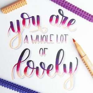18011950 229501427526635 3743317727951978496 n 300x300 - Những tác phẩm calligraphy ấn tượng từ cây bút Artline Stix