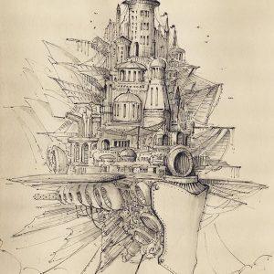 21910083 1474313582650878 5457190703337570304 n 300x300 - Hướng dẫn vẽ minh họa lâu đài bay sáng tạo bằng bút kỹ thuật Artline