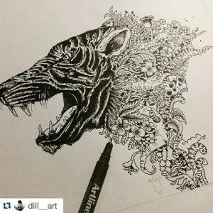 "@doodlesea 300x300 - Vẽ ""nguệch ngoạc"" Doodle Art là gì?"