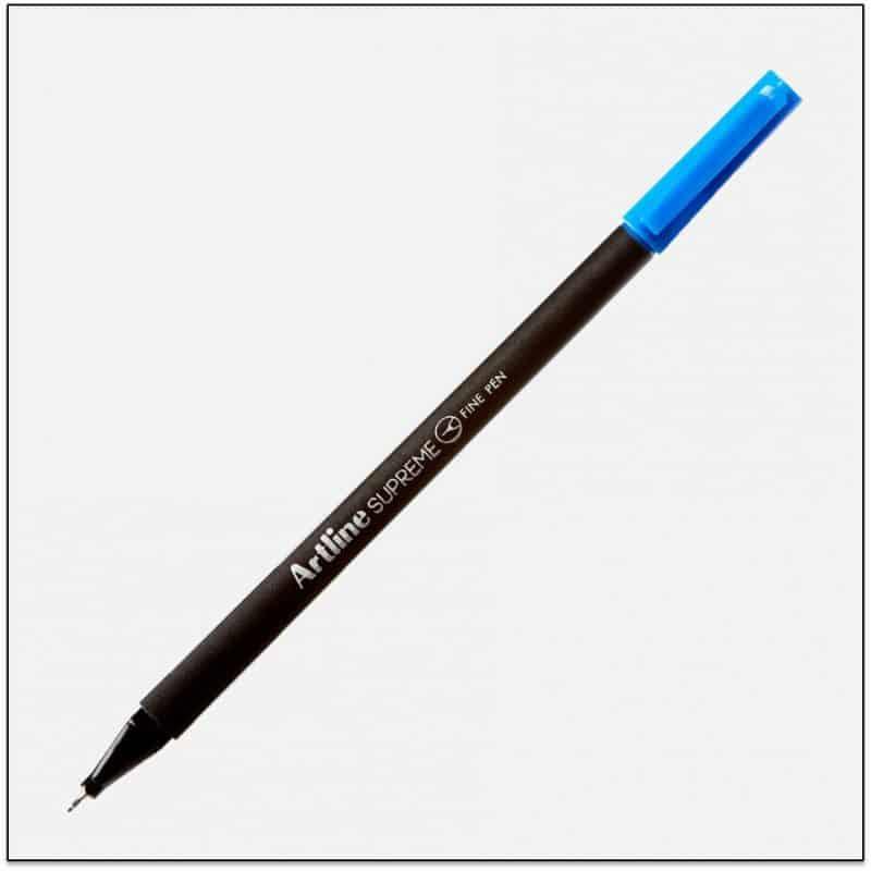 ARTLINE SUPREME bút lông kim cao cấp BLUE BX12