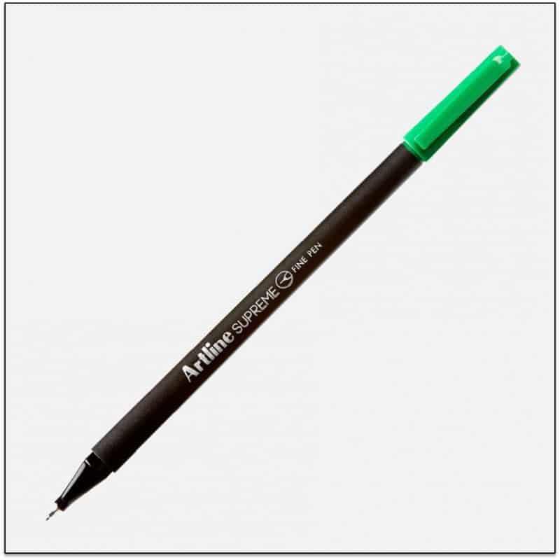 ARTLINE SUPREME bút lông kim cao cấp GREEN BX12