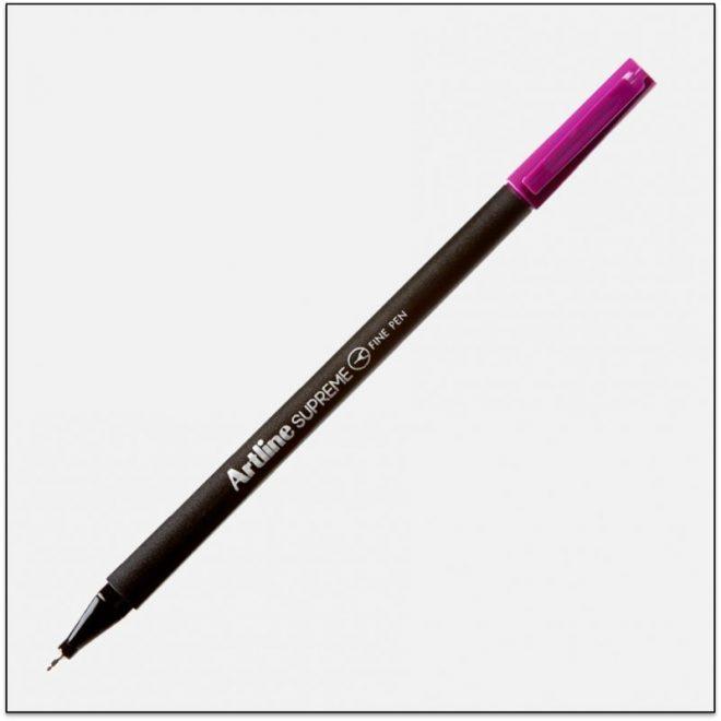 ARTLINE SUPREME bút lông kim cao cấp MAGENTA BX12