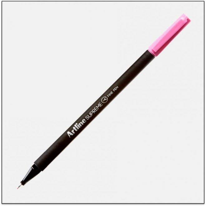 ARTLINE SUPREME bút lông kim cao cấp PINK BX12