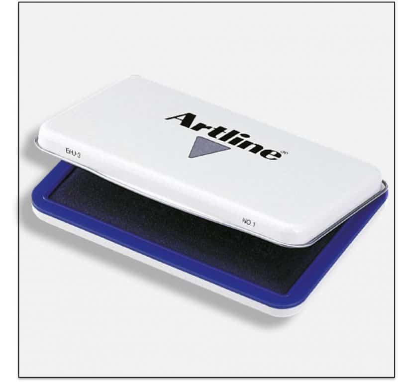 EHJ 3 BLUE tăm bông chứa mực đóng dấu