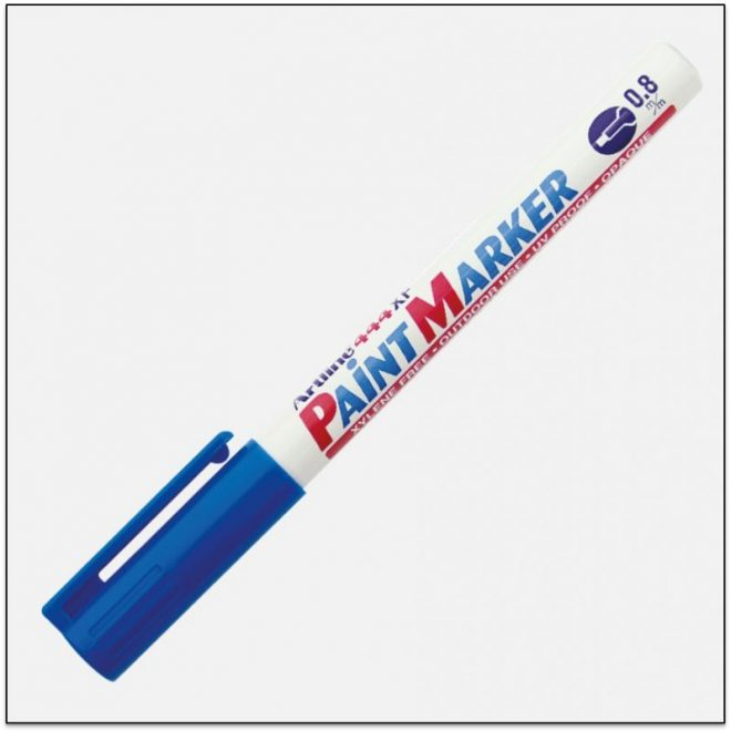 EK 444 blue bút sơn không phai