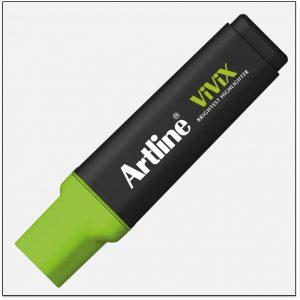 EK 670 GREEN bút dạ quang màu đẹp Artline Japan 1 300x300 - Lợi ích bút dạ quang màu xanh lá