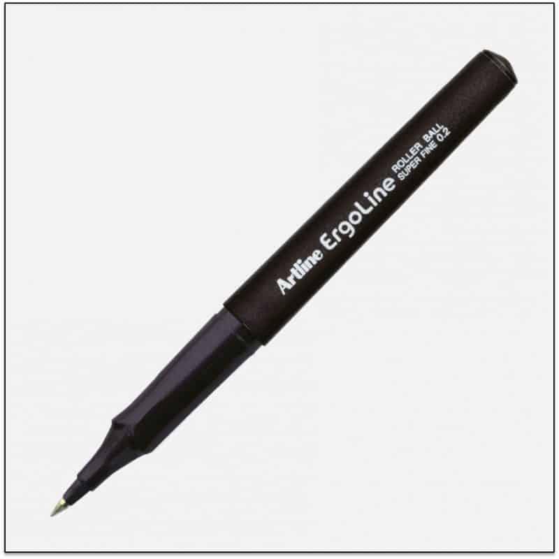 ERG 4200 BLACK bút ký cao cấp