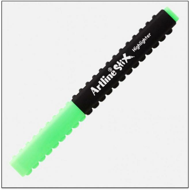 ETX 600 GREEN Bút dạ quang lắp ráp sáng tạo