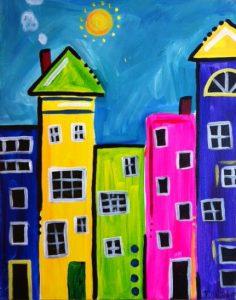 Hướng dẫn bé vẽ tranh sáp dầu 2 1 236x300 - Hướng dẫn bé vẽ tranh với Bút Sáp Artline Pastel EOP-A-12S