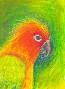 Hướng dẫn bé vẽ tranh sáp dầu 3 1 1 221x300 - Hướng dẫn bé vẽ tranh với Bút Sáp Artline Pastel EOP-A-12S