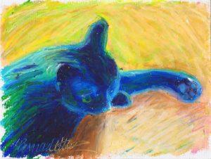 Hướng dẫn bé vẽ tranh sáp dầu 8 300x226 - Hướng dẫn bé vẽ tranh với Bút Sáp Artline Pastel EOP-A-12S