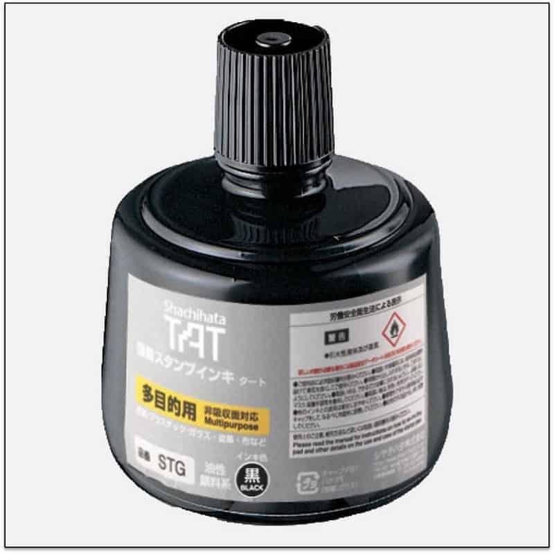 STG BLACK TAT ink mực đóng dấu không phai trong nhà máy