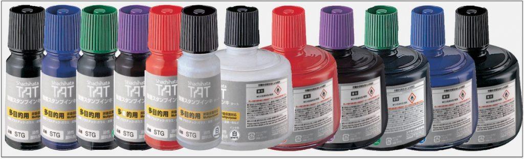 STG TAT ink mực đóng dấu không phai trong nhà máy