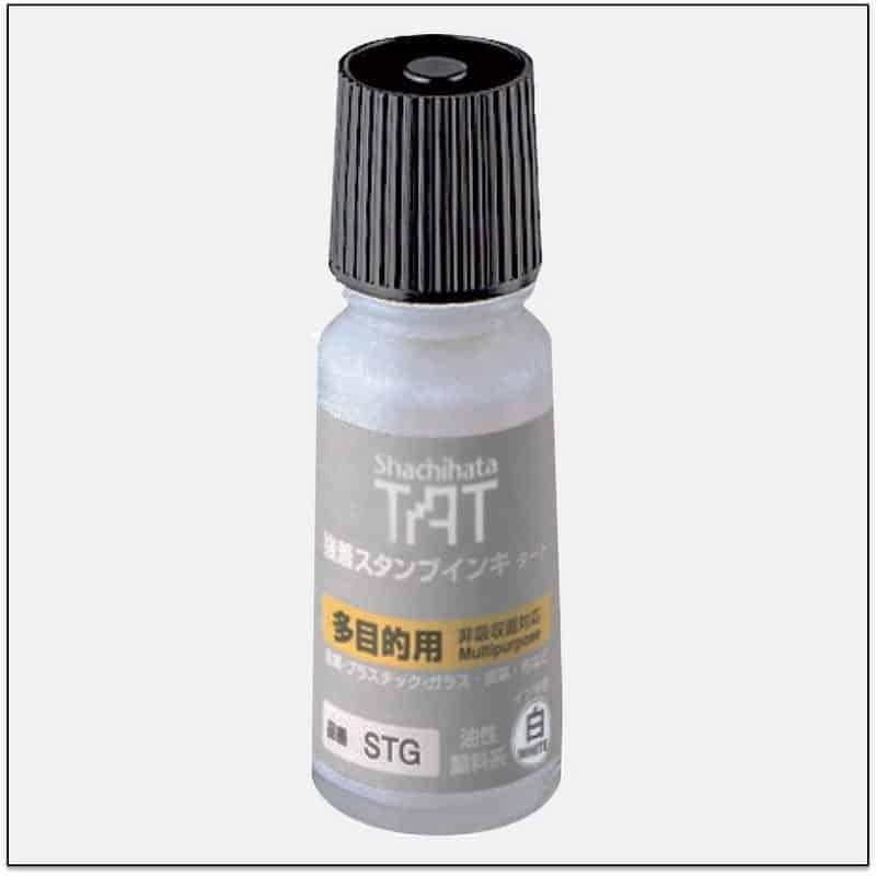STG WHITE 1 TAT ink mực đóng dấu không phai trong nhà máy
