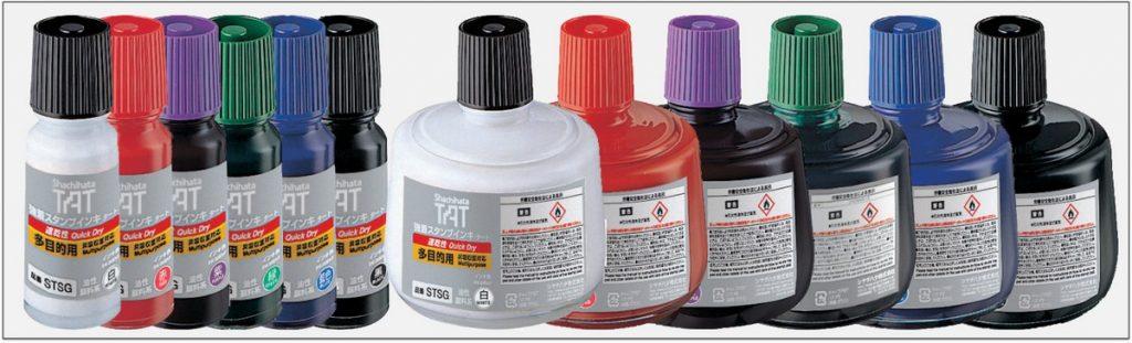 STSG TAT ink mực đóng dấu không phai trong nhà máy nhanh khô