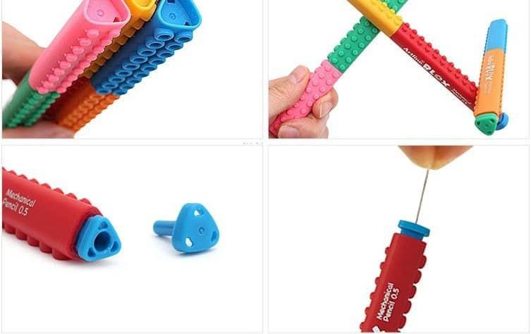 bút chì kim artline Japan lắp ráp sáng tạo 3 min