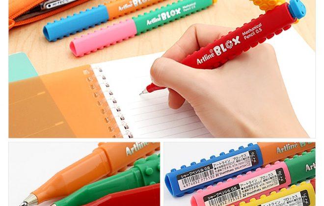 bút chì kim artline Japan lắp ráp sáng tạo min