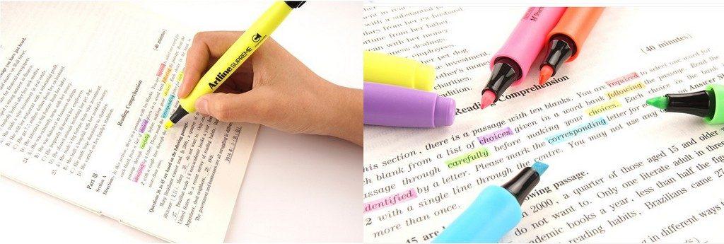 bút dạ quang Artline supreme 111