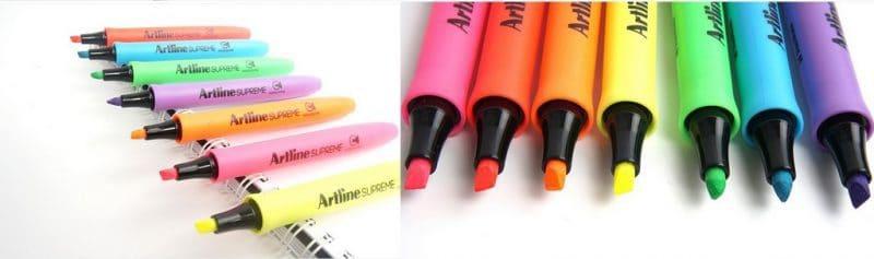 bút dạ quang Artline supreme 1112 - Văn phòng cao cấp phải có cây bút dạ quang xứng tầm