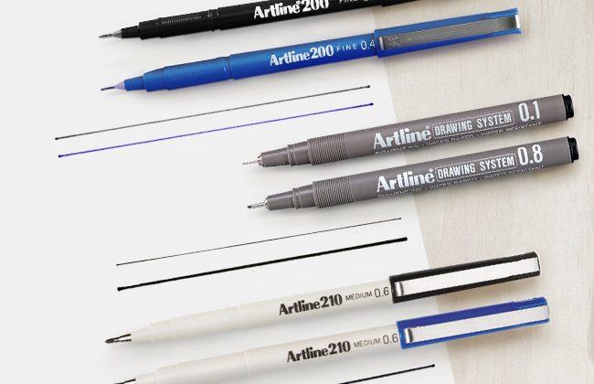 bút viết dụng cụ vẽ văn phòng phẩm