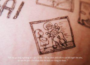 cau chuyen chong ve len bung vo bau roi chup anh lai day xuc dong 6 300x216 - Bộ ảnh dễ thương vẽ bằng bút Artline của ông bố tặng con sắp chào đời