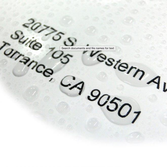 khắc dấu chống nước