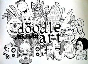 """tranh ve nguech ngoac nghe thuat doodle art la gi2 300x218 - Vẽ """"nguệch ngoạc"""" Doodle Art là gì?"""