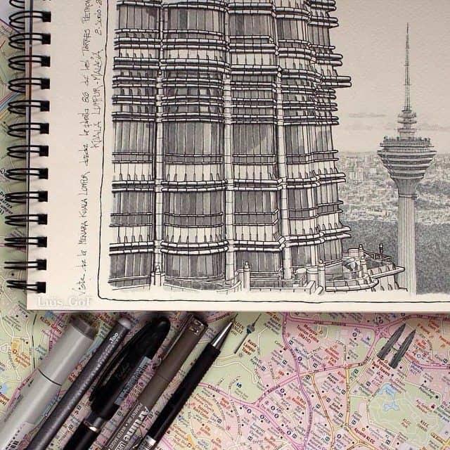 10520327 751307598329613 289151953 n - Cảm hứng Artline #18: Những bức ký họa đẹp bằng bút kỹ thuật