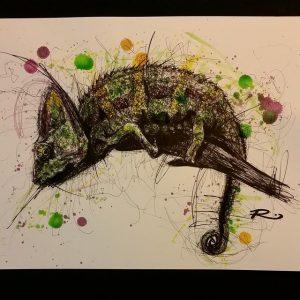 10522788 679799768769296 118488033 n 300x300 - Cảm hứng Artline #8: Bộ tranh động vật độc đáo của nữ họa sĩ Australia