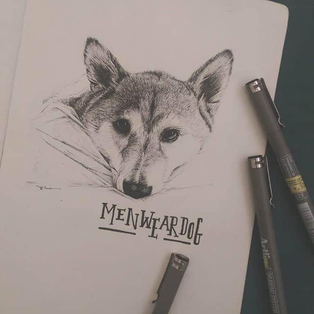 10655051 993204520765248 208660212 n - Vẽ ký họa cún cưng bằng bút kỹ thuật Artline